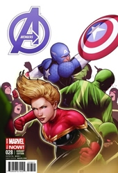 Picture of Avengers (2013) #28 Captain America Team-Up Cover