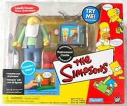 Picture of World of Springfield Retirement Castle Interactive Environment with Jasper Figure