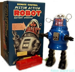 Picture of Remote Control Piston Action Robot