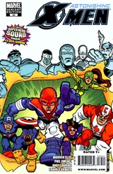 Picture of Astonishing X-Men (2004) #32 Superhero Squad Cover