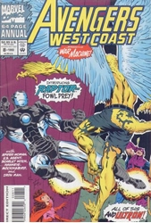 Picture of West Coast Avengers (1985) Annual #8