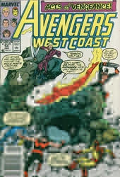 Picture of West Coast Avengers (1985) #54