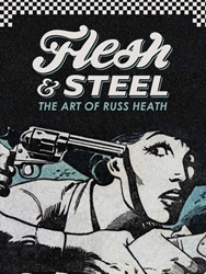 Picture of Flesh and Steel Art of Russ Heath HC