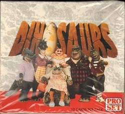 Picture of Dinosaurs Pro Set Cards