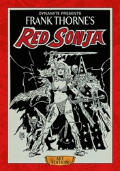 Picture of Frank Thorne Red Sonja Art Edition HC