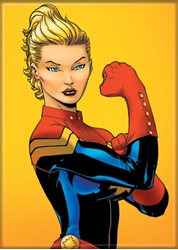 Picture of Captain Marvel We Can Do It Magnet