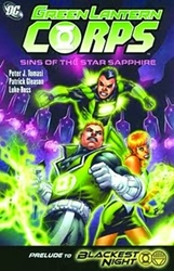 Picture of Green Lantern Corps Sins of the Star Sapphire SC