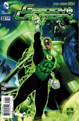 Picture of Green Lantern (2011) #33 Batman 75th Anniversary Cover