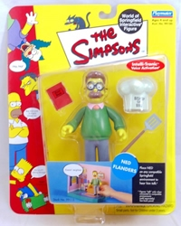 Picture of Simpsons Ned Flanders Action Figure