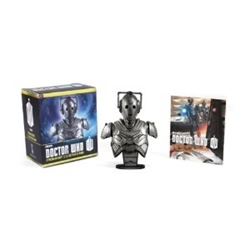 Picture of Doctor Who Cyberman Bust and Illustrated Book Mega Mini Kit