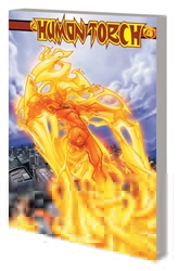 Picture of Human Torch by Kesel and Young Complete Collection SC