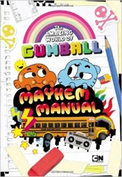 Picture of Amazing World of Gumball Mayhem Manual SC