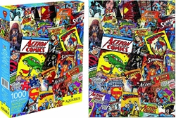 Picture of Superman Action Comics Collage Puzzle