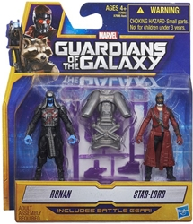 Picture of Guardians of the Galaxy Star-Lord and Ronan Mini Action Figure 2-Pack