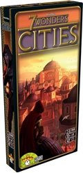 Picture of 7 Wonders Cities Board Game Expansion