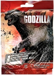 Picture of Godzilla Mini Figures Series 1 Gravity Feed Booster Pack