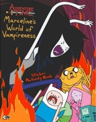Picture of Adventure Time Marceline's World of Vampireness Sticker Activity Book