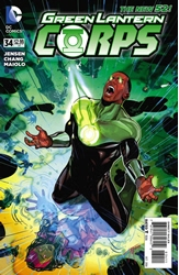Picture of Green Lantern Corps (2011) #34