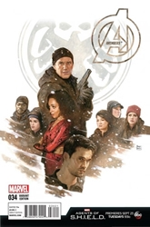 Picture of Avengers (2013) #34 Agents of SHIELD Cover