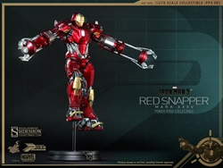 Picture of Iron Man Red Snapper Mark XXXV Hot Toys Figure