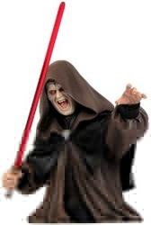Picture of Star Wars Emperor Palpatine Mini Bust