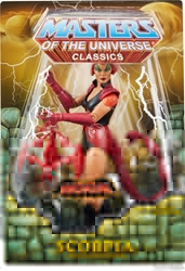 Picture of Masters of the Universe Classics Scorpia Action Figure