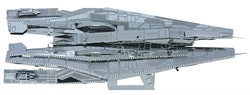 Picture of Mass Effect Alliance Cruiser Metal Earth 3D Metal Model Kit