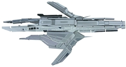 Picture of Mass Effect Turian Cruiser Metal Earth 3D Metal Model Kit