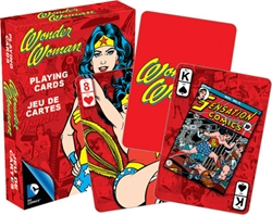 Picture of Wonder Woman Retro Playing Cards
