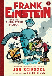 Picture of Frank Einstein and the Antimatter Motor Signed Edition