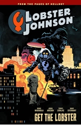 Picture of Lobster Johnson Vol 04 SC Get the Lobster