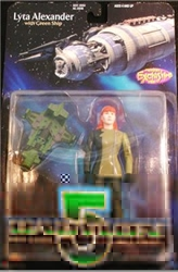 Picture of Babylon 5 Lyta Alexander Black Gloves Action Figure