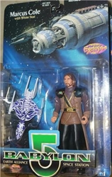Picture of Babylon 5 Marcus Cole Action Figure