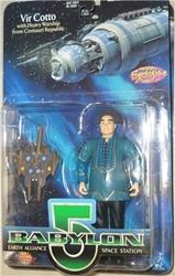 Picture of Babylon 5 Vir Cotto Blue Uniform Action Figure