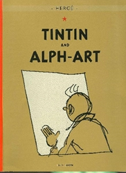 Picture of Adventures of Tintin & Alph-Art GN