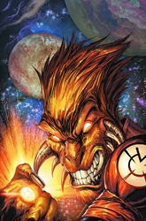 Picture of Larfleeze Vol 02 SC Face of Greed