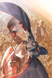 Picture of Falcon All-New Captain America #1 Ross Poster
