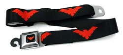Picture of Nightwing Symbol Seatbelt Belt