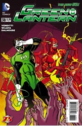 Picture of Green Lantern (2011) #38 Flash 75th Anniversary Cover