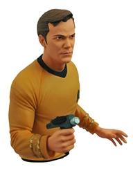 Picture of Star Trek Kirk Bust Bank