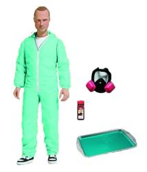 "Picture of Breaking Bad Jesse Pinkman Blue Hazmat 6"" Action Figure"