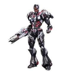 Picture of DC Comics Variant Play Arts Kai Cyborg Action Figure