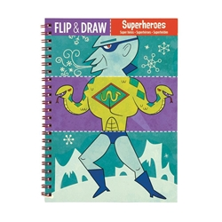 Picture of Flip and Draw Superheroes