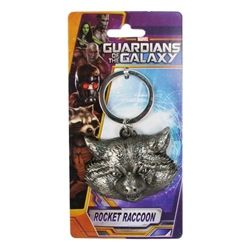 Picture of Guardians of the Galaxy Rocket Raccoon Pewter Keyring