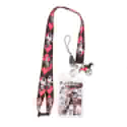 Picture of Harley Quinn Lanyard with Soft Dangle