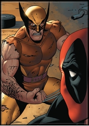 Picture of Deadpool & Wolverine Magnet