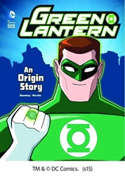 Picture of DC Super Heroes Green Lantern Origin Story SC