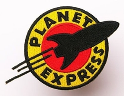 Picture of Futurama Planet Express Patch