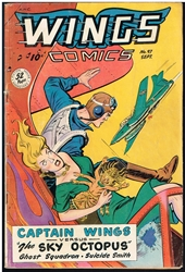 Picture of Wings Comics #97