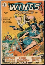 Picture of Wings Comics #105
